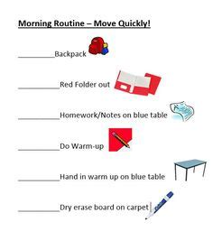 Printable Backpack Checklist for Your Child - Understoodorg